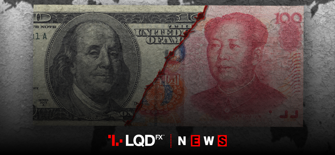 The Chinese yuan has dropped more than 3% against the US dollar in the past two weeks as trade war between the world's two biggest economies has escalated.