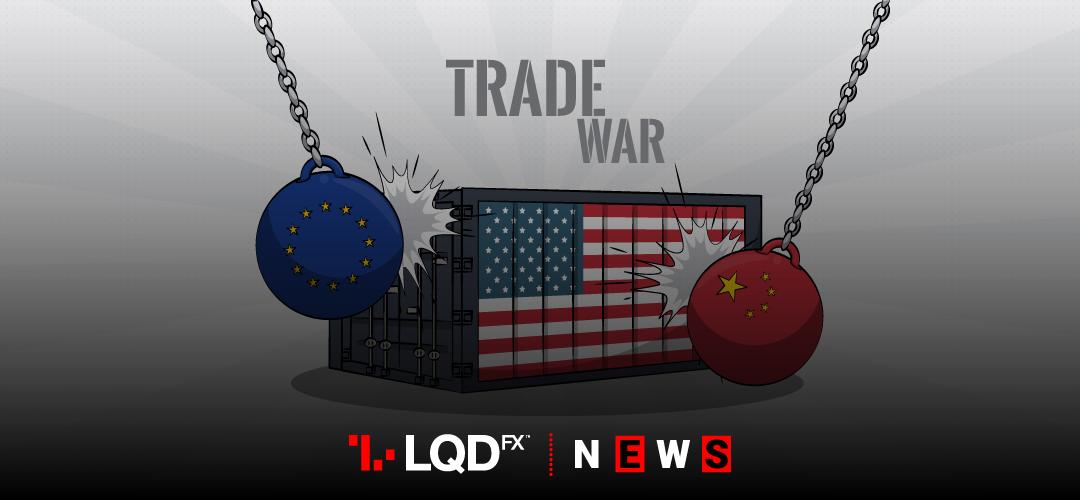 Global Trade War Trio: USA, China, EU
