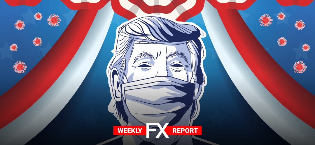 LQDFXperts Weekly Highlights: Trump's COVID-19 illness adds another layer of uncertainty